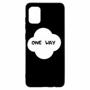 Samsung A31 Case One Way