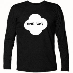 Koszulka z długim rękawem One Way