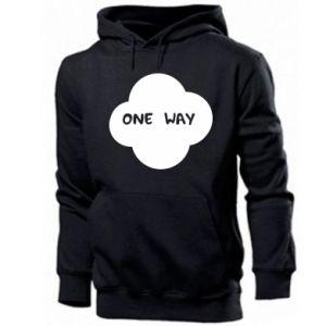 Męska bluza z kapturem One Way