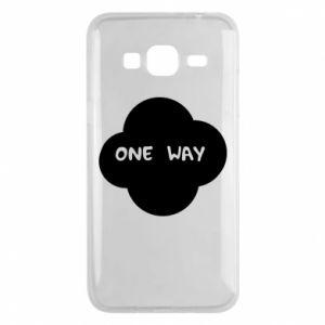 Etui na Samsung J3 2016 One Way