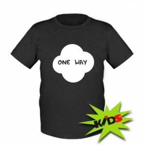 Dziecięcy T-shirt One Way