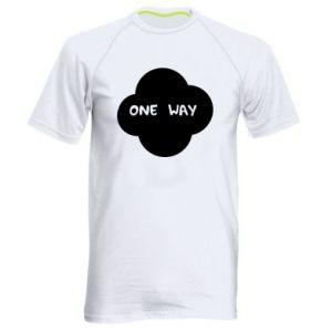 Męska koszulka sportowa One Way