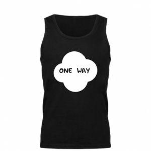 Męska koszulka One Way