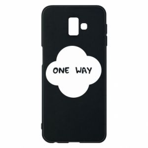 Etui na Samsung J6 Plus 2018 One Way