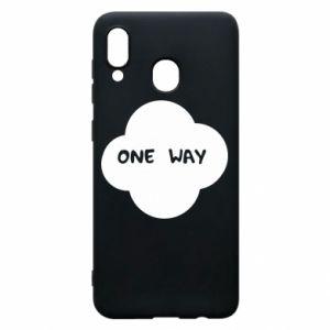 Etui na Samsung A30 One Way