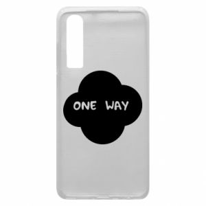 Etui na Huawei P30 One Way