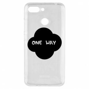 Etui na Xiaomi Redmi 6 One Way