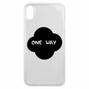 iPhone Xs Max Case One Way
