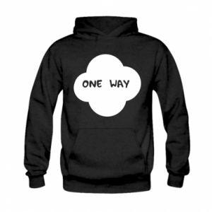 Kid's hoodie One Way