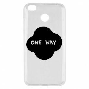 Xiaomi Redmi 4X Case One Way
