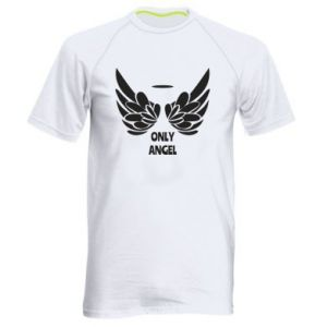 Men's sports t-shirt Only angel