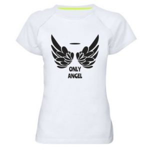 Women's sports t-shirt Only angel