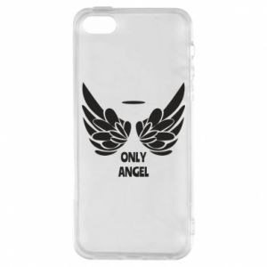 Phone case for iPhone 5/5S/SE Only angel