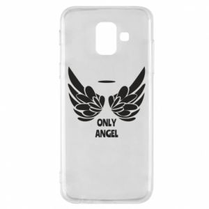 Phone case for Samsung A6 2018 Only angel