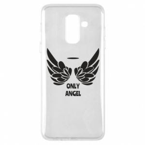 Phone case for Samsung A6+ 2018 Only angel