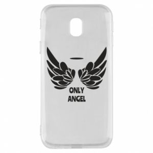 Phone case for Samsung J3 2017 Only angel