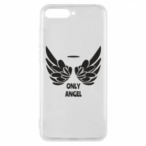 Phone case for Huawei Y6 2018 Only angel