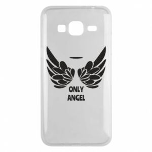Phone case for Samsung J3 2016 Only angel