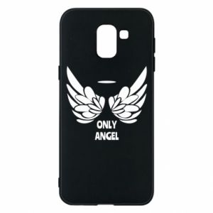 Phone case for Samsung J6 Only angel