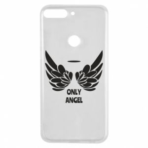 Phone case for Huawei Y7 Prime 2018 Only angel