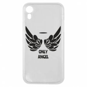Phone case for iPhone XR Only angel