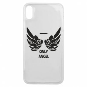 Phone case for iPhone Xs Max Only angel