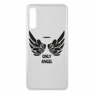 Phone case for Samsung A7 2018 Only angel