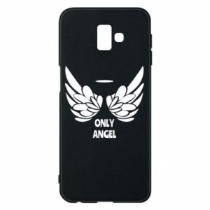 Phone case for Samsung J6 Plus 2018 Only angel