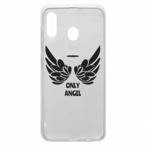 Phone case for Samsung A20 Only angel