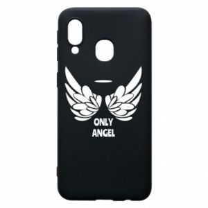 Phone case for Samsung A40 Only angel