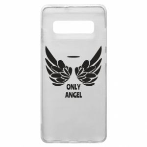 Phone case for Samsung S10+ Only angel