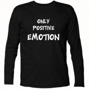 Koszulka z długim rękawem Only positive emotion