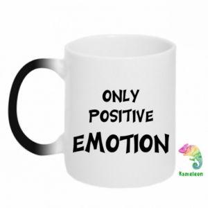 Kubek-kameleon Only positive emotion