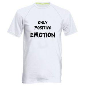 Męska koszulka sportowa Only positive emotion