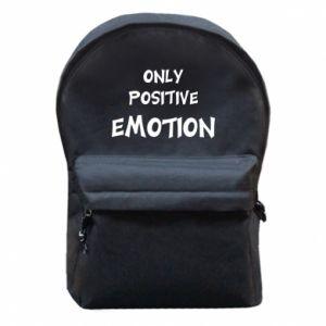 Plecak z przednią kieszenią Only positive emotion