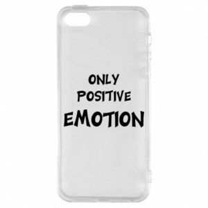 Etui na iPhone 5/5S/SE Only positive emotion