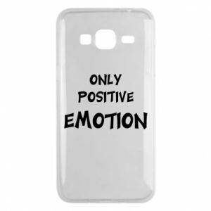 Etui na Samsung J3 2016 Only positive emotion