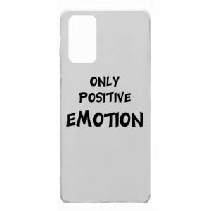 Samsung Note 20 Case Only positive emotion