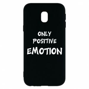 Etui na Samsung J3 2017 Only positive emotion