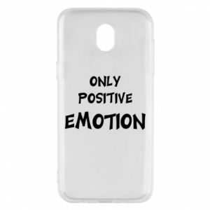Etui na Samsung J5 2017 Only positive emotion