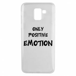 Etui na Samsung J6 Only positive emotion
