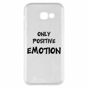 Etui na Samsung A5 2017 Only positive emotion