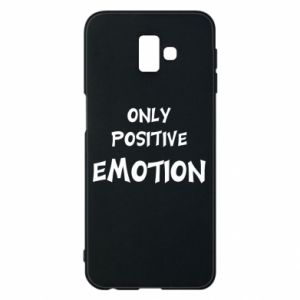 Etui na Samsung J6 Plus 2018 Only positive emotion