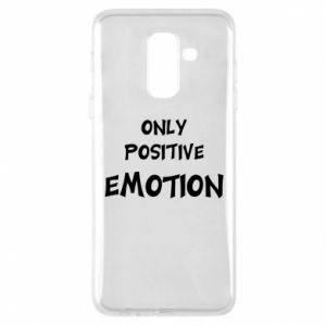 Etui na Samsung A6+ 2018 Only positive emotion