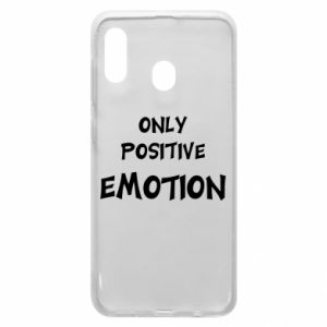 Etui na Samsung A30 Only positive emotion