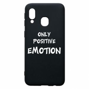 Etui na Samsung A40 Only positive emotion