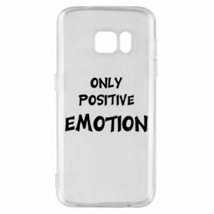 Etui na Samsung S7 Only positive emotion