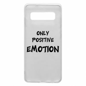 Etui na Samsung S10 Only positive emotion