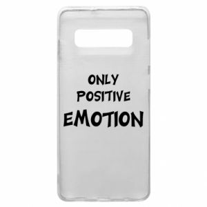 Etui na Samsung S10+ Only positive emotion