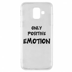 Etui na Samsung A6 2018 Only positive emotion